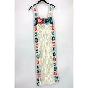 Granny Squares Crochet Maxi Dress Cover